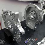 ノートe-POWERとリーフのリョービ製モーターカバー