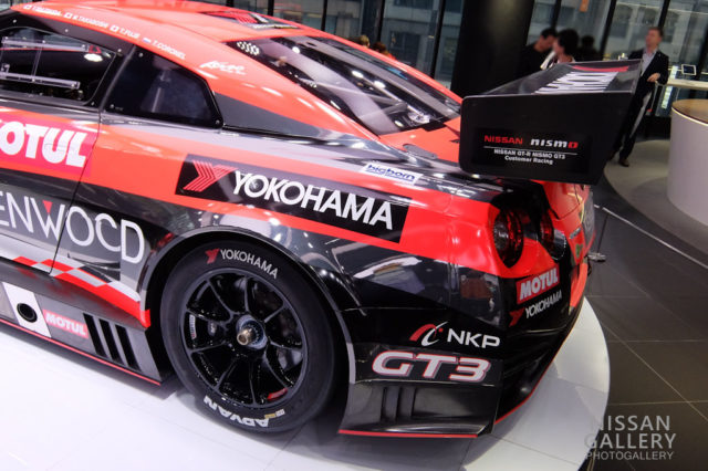 NISSAN GT-R NISMO GT3 2018年モデル