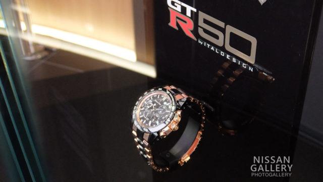 グランドセイコー スポーツコレクション スプリングドライブ クロノグラフGMT featuring Nissan GT-R50 by Italdesign