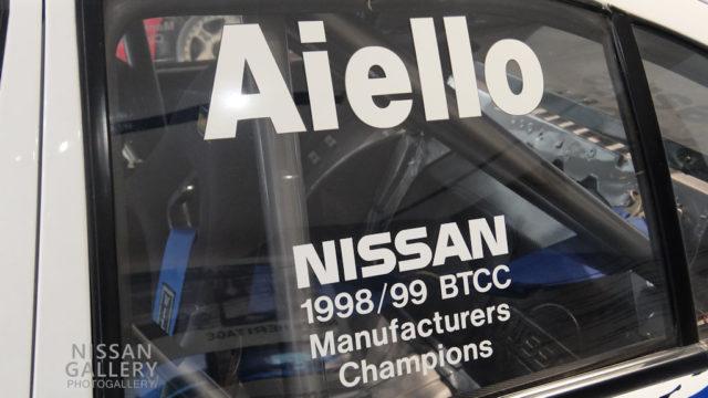 プリメーラGT 1999年英国ツーリングカー選手権(BTCC)参戦車