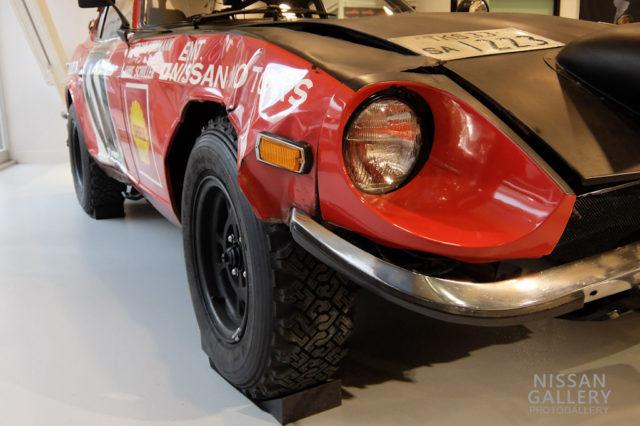 ダットサン240Z サファリラリー優勝車