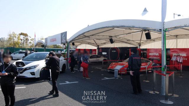 モータースポーツジャパン2019 日産ブース