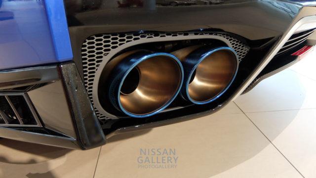 NISSAN GT-R 2020年モデル チタンマフラー