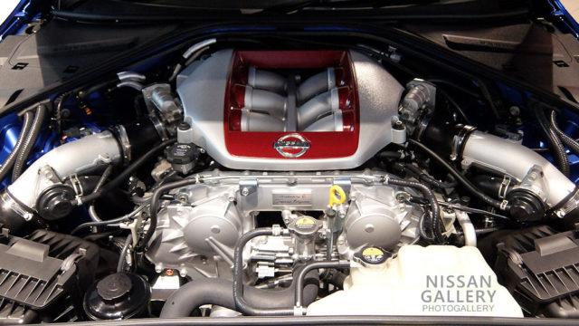 日産GT-R VR38DETTエンジン