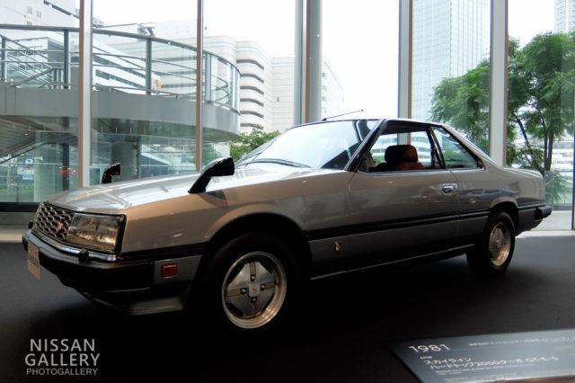 スカイライン ハードトップ 2000ターボ GT-E・S(1981年・KHR30型)