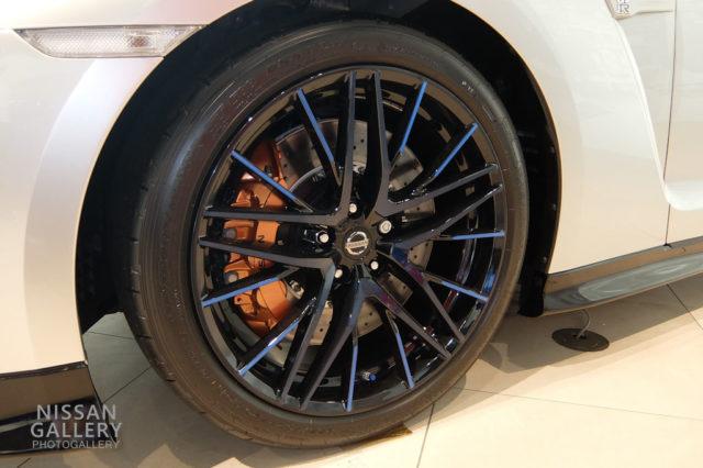 日産 GT-R 50th Anniversaryのホイール