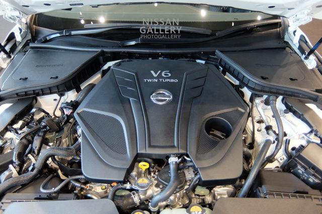 日産 スカイライン v37 VR30DDTTエンジン