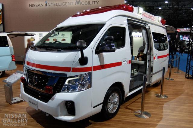 日産 パラメディック 電動ストレッチャー搭載車